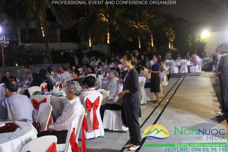 Organizing year end party, gala dinner, teabreak